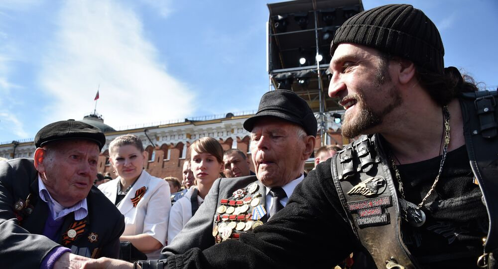 Aleksander Załdostanow, lider klubu motocyklowego Nocne Wilki