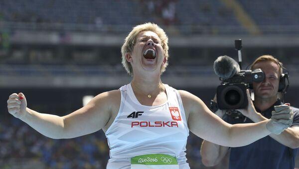 Anita Włodarczyk na Olimpiadzie w Rio, 15 sierpnia 2016 - Sputnik Polska