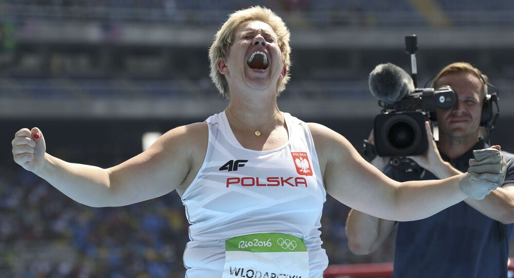 Anita Włodarczyk na Olimpiadzie w Rio, 15 sierpnia 2016