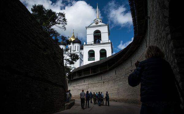Za oficjalną datę powstania Pskowa uważa się 903 rok, kiedy miasto po raz pierwszy zostało wspomniane w roczniku. - Sputnik Polska