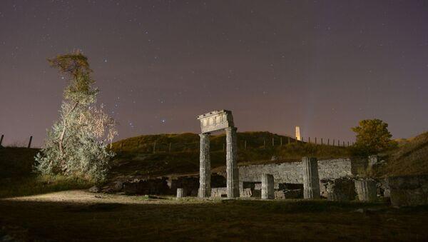 Ruiny starożytnego miasta Pantikapajon w Kerczu - Sputnik Polska