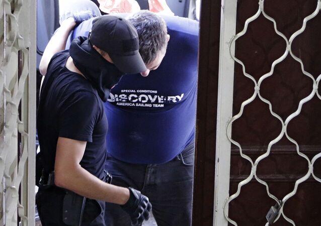 Jewgienij Panow, zatrzymany na Krymie i oskarżony o dywersję
