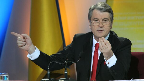 Prezydent Ukrainy Wiktor Juszczenko - Sputnik Polska