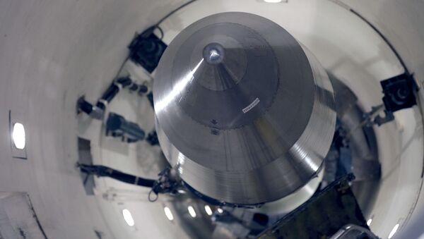 Amerykański międzykontynentalny pocisk balistyczny Minuteman 3 - Sputnik Polska