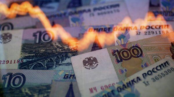 Związek między wartością rubla i ropy - Sputnik Polska