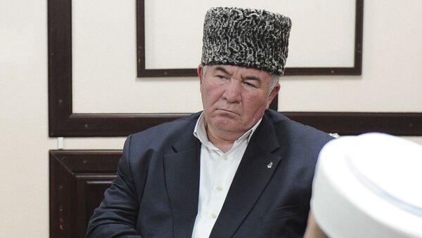 Przewodniczący koordynacyjnego centrum muzułmanów Kaukazu Północego mufti karaczajewo-czerkieski Ismaił Berdijew - Sputnik Polska