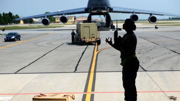 Żołnierze wojsk USA w bazie lotniczej Incirlik w Turcji - Sputnik Polska