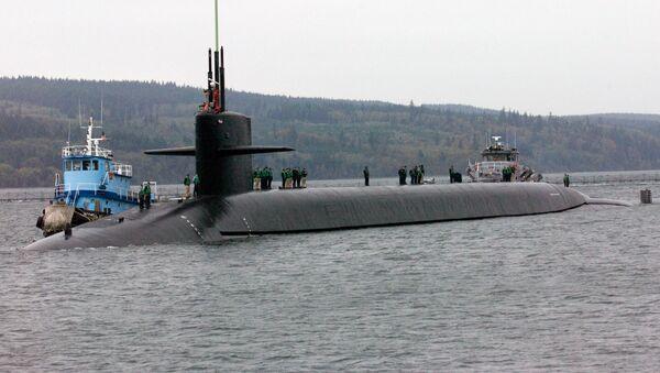 """Amerykański okręt podwodny o napędzie atomowym """"Luizjana"""" - Sputnik Polska"""