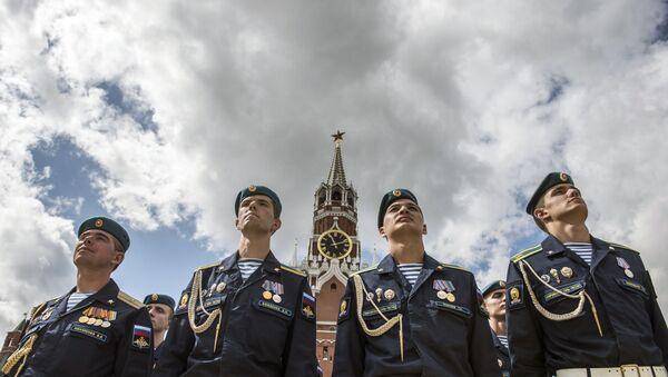 Żołnierze Wojsk Powietrznodesantowych Federacji Rosyjskiej - Sputnik Polska