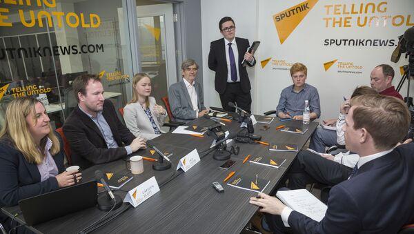 Otwarcie oddziału agencji Sputnik w Edynburgu - Sputnik Polska