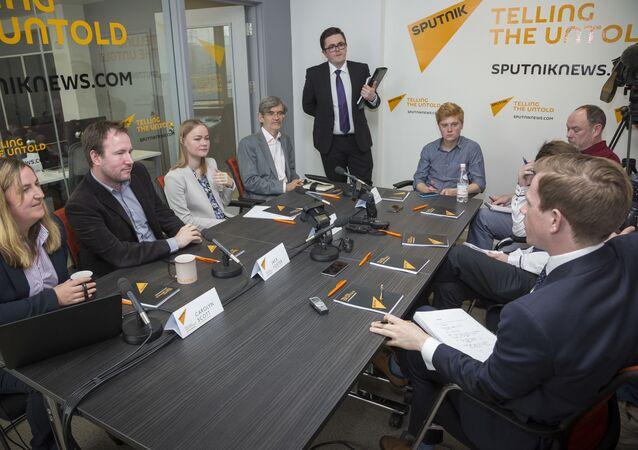 Otwarcie oddziału agencji Sputnik w Edynburgu
