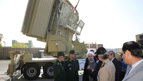 Mobilny system obrony powietrznej produkcji irańskiej Bavar 373 - Sputnik Polska