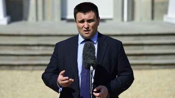 Minister Spraw Zagranicznych Ukrainy Pawło Klimkin - Sputnik Polska