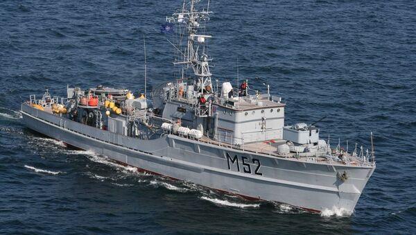 Niszczyciel min M52 Sūduvis litewskiej marynarki wojennej - Sputnik Polska