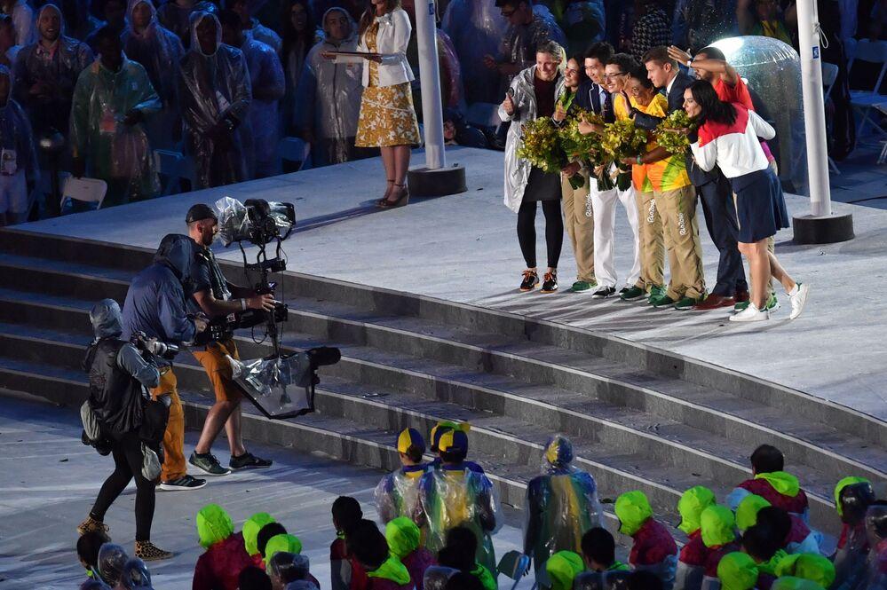 Ceremonia zamknięcia XXXI Letnich Igrzysk Olimpijskich