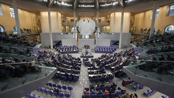 A general view of a session of the Bundestag, the German lower house of parliament, in Berlin, Germany - Sputnik Polska