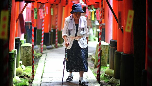 Jaka przyszłość czeka starzejącą się Japonię? - Sputnik Polska