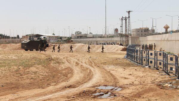 Wojsko na turecko-syryjskiej granicy - Sputnik Polska