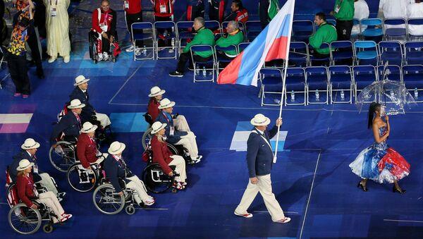 Rosyjscy sportowcy na Igrzyskach Paraolimpijskich w Londynie w 2012 - Sputnik Polska