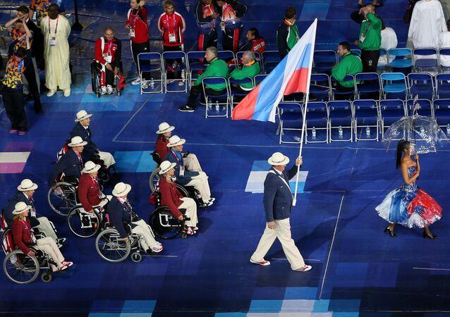 Rosyjscy sportowcy na Igrzyskach Paraolimpijskich w Londynie w 2012