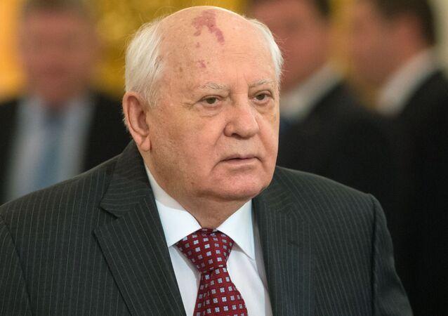 Były prezydent Związku Radzieckiego Michaił Gorbaczow