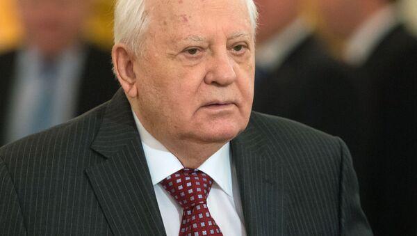 Były prezydent Związku Radzieckiego Michaił Gorbaczow - Sputnik Polska
