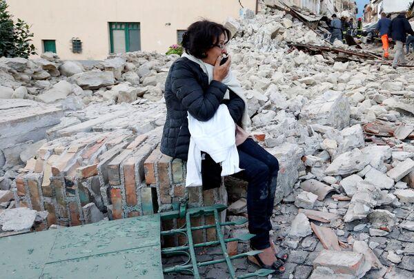 Sejsmolodzy dopuszczają możliwość wystąpienia kolejnych trzęsień ziemi o magnitudzie 6.0. - Sputnik Polska