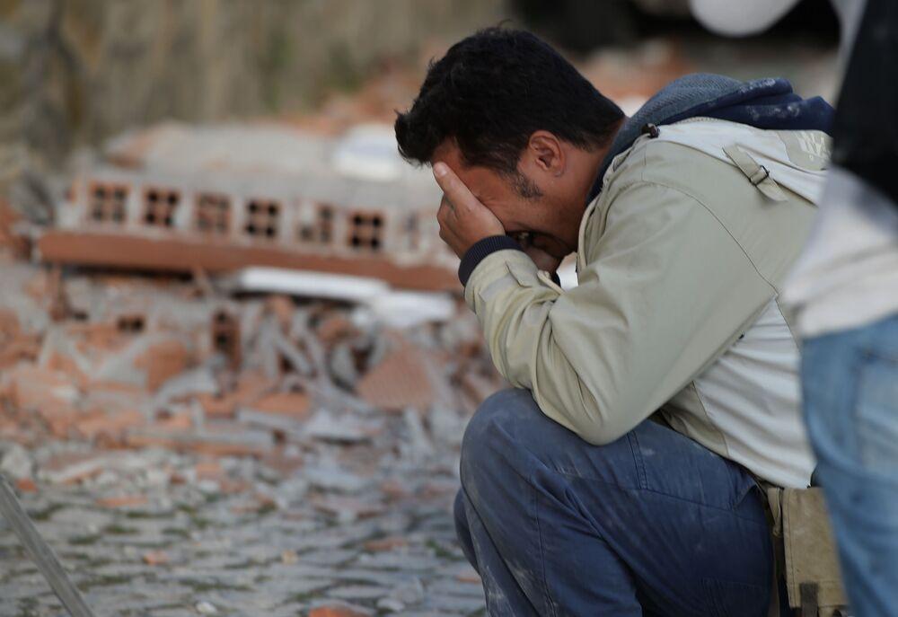 Dla mieszkańców Amatrice to wielka tragedia, w jeden dzień stracić wszystko, czego dorabiali się całe życie.