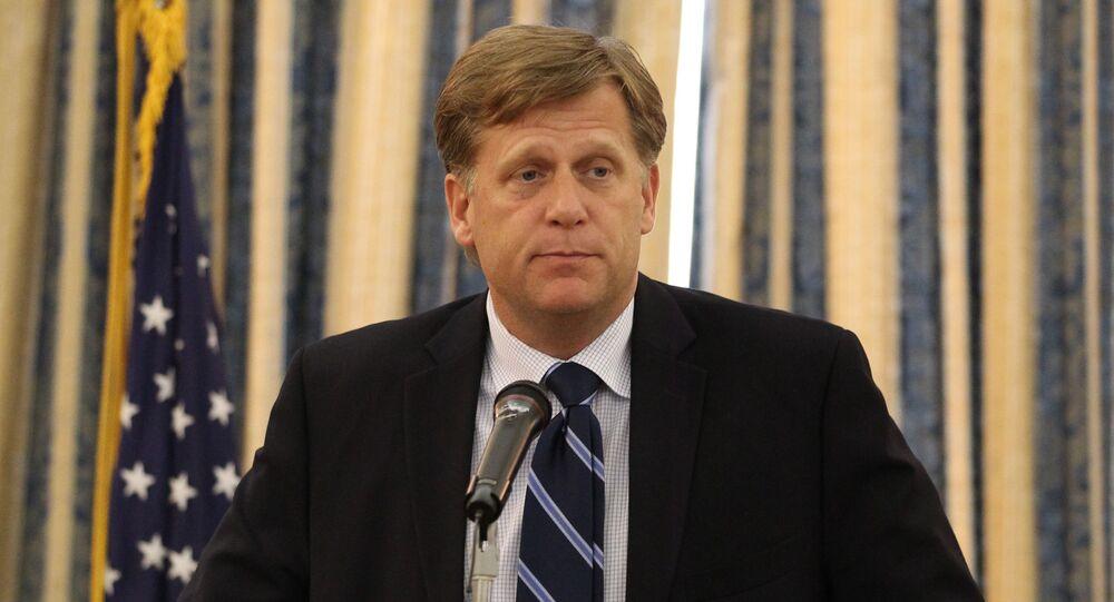 Były ambasador USA w Rosji McFaul