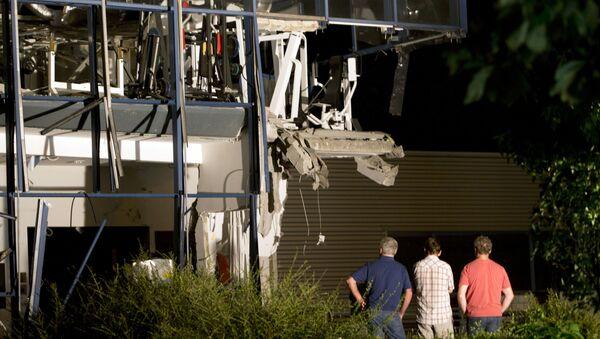 Wybuch w ośrodku sportowym w mieście Chimay na południu Belgii - Sputnik Polska