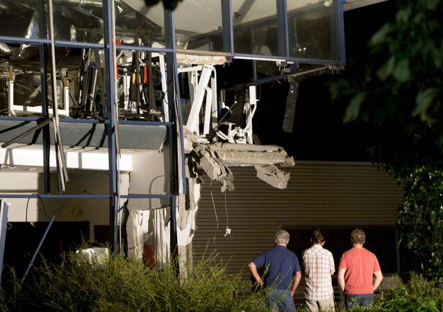 Wybuch w ośrodku sportowym w mieście Chimay na południu Belgii
