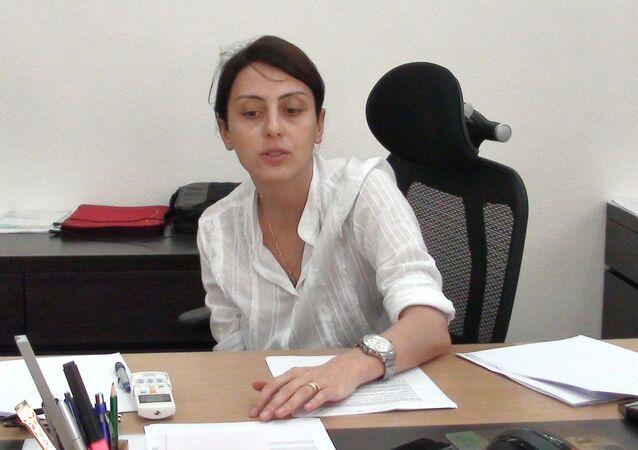Szefowa Narodowej Policji Ukrainy Chatia Dekanoidze