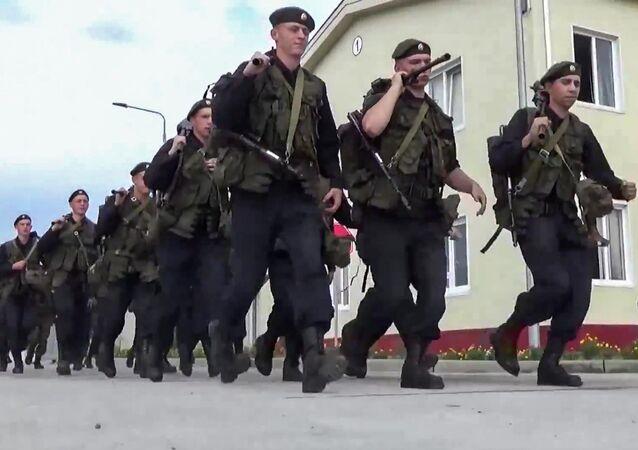 Kontrola gotowości bojowej wojsk Rosji