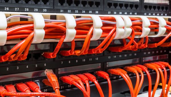 Kable sieciowe - Sputnik Polska