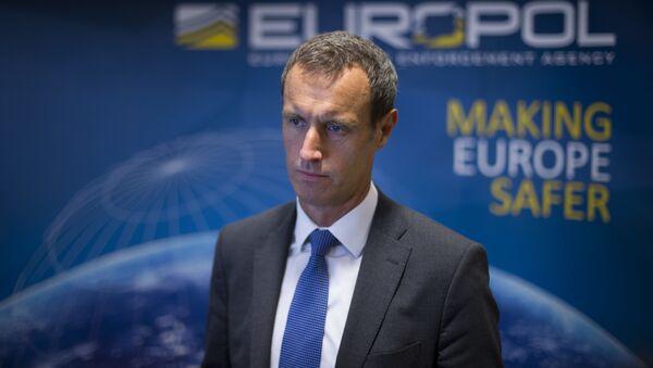 Dyrektor Europolu Rob Wainwright - Sputnik Polska