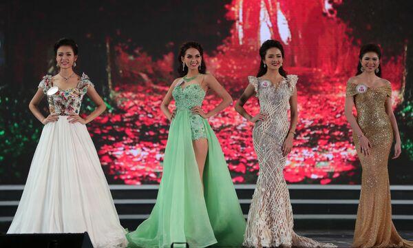 Uczestniczki konkursu Miss Wietnam 2016 - Sputnik Polska