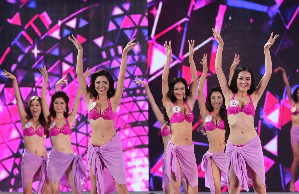 Uczestniczki konkursu Miss Wietnam 2016