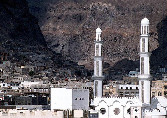 Stare miasto w Adenie. Jemen