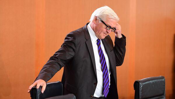 Minister spraw zagranicznych Niemiec Frank Walter-Steinmeier - Sputnik Polska