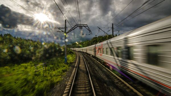 Transsyberyjska Kolej - Sputnik Polska