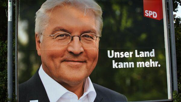 Bundesaußenminister Frank-Walter Steinmeier - Sputnik Polska