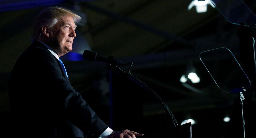 Republikański kandydat na stanowisko prezydenta USA Donald Trump
