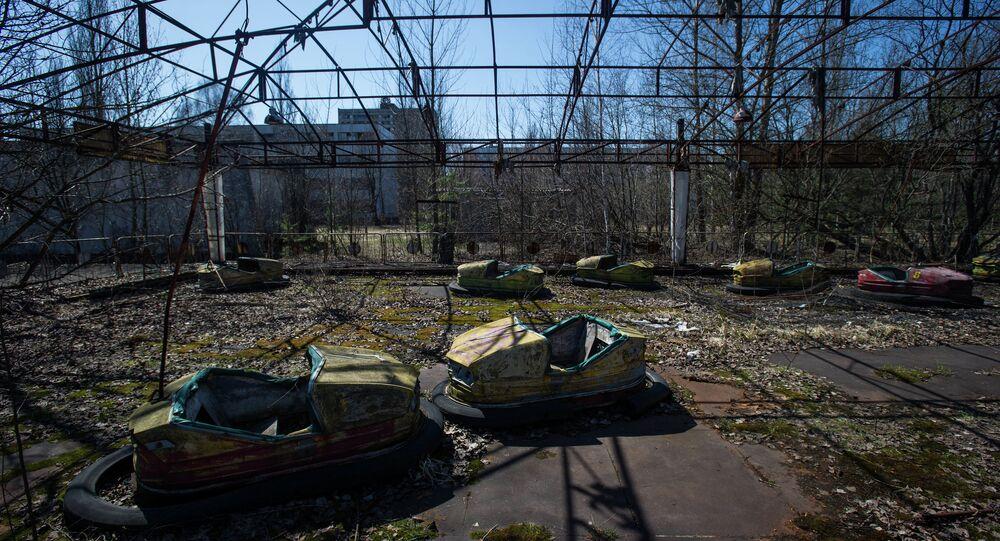 Zdjęcie z czarnobylskiej strefy wykluczenia