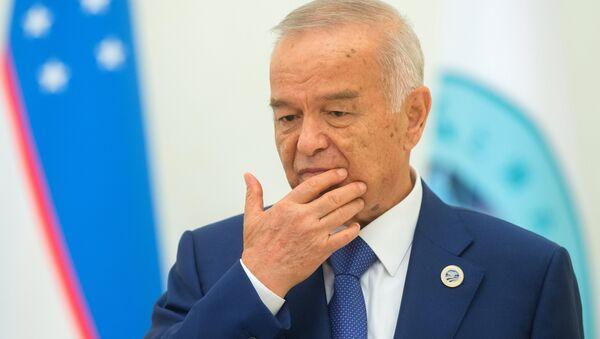 Prezydent Uzbekistanu Islam Karimow - Sputnik Polska