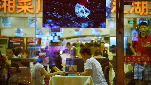Klienci w restauracji w Pekinie - Sputnik Polska