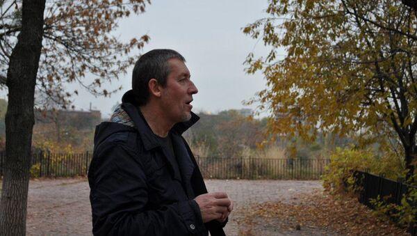Dziennikarz Aleksander Szczetinin w Kijowie - Sputnik Polska