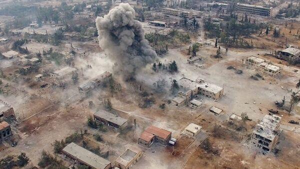 Południowy zachód miasta Aleppo w Syrii - Sputnik Polska