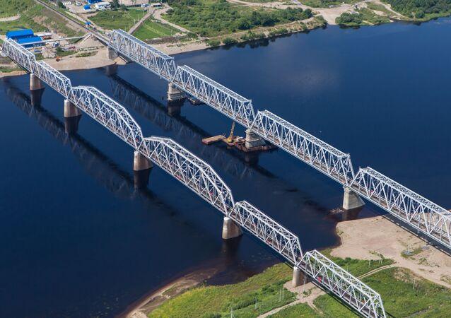 Mosty kolejowe w rejonie burejskim obwodu amurskiego