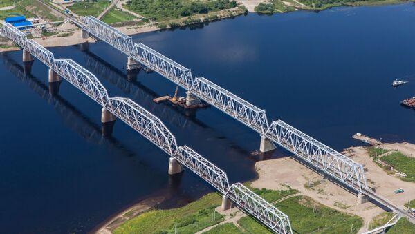 Mosty kolejowe w rejonie burejskim obwodu amurskiego - Sputnik Polska