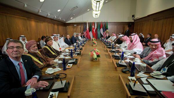Spotkanie prezydenta USA Baracka Obamy z liderami  krajów Rady Współpracy Zatoki Perskiej w Camp David - Sputnik Polska